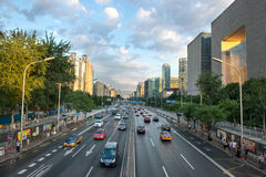 Beijing, China   one of the central districts of Beijing near Do Stock Photo