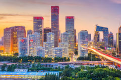 Beijing, China Skyline Stock Photos