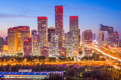 Beijing, China Skyline Stock Images