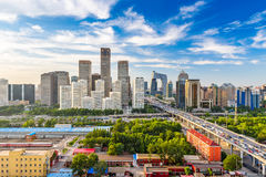 Beijing, China Skyline Royalty Free Stock Photography