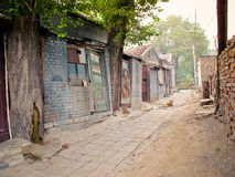 Beijing, China street Royalty Free Stock Photography