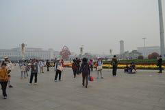 Beijing China Tiananmen Square. Beijing Tiananmen Square, 18 oct 2015 Stock Image