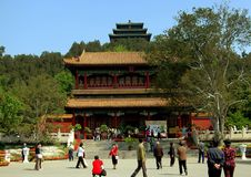 Beijing, China: Wenchun Pavilion Stock Photo