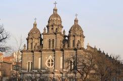 Beijing Church , China Stock Photo