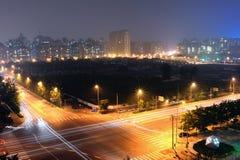 Beijing city night scenes Royalty Free Stock Image