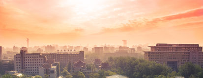 Beijing City views 2 Royalty Free Stock Photography