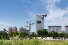 Beijing Cityscape Stock Photography