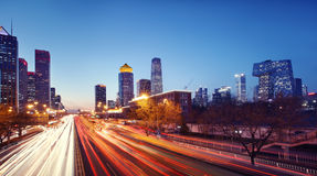 Beijing cityscape Royalty Free Stock Images