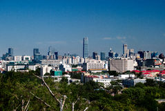 Beijing Cityview. Panoramic view of Beijing, China Royalty Free Stock Photos