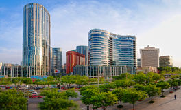 Beijing Commercial Street—Sanlitun Village shop Royalty Free Stock Images