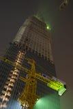 beijing construction budynku. obrazy stock