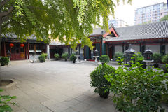 Beijing courtyard Royalty Free Stock Photos