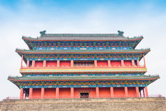 Beijing Drum Tower Royalty Free Stock Photography