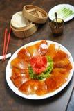 Beijing Duck. Grill skin Beijing Duck - china food Stock Images