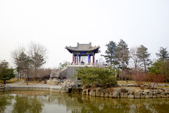 Beijing Expo Park. Is also known as Beijing Garden Expo Park or Yingshan Forest Park. It is located in the southwestern suburb of Beijing, near the Yongding Stock Images
