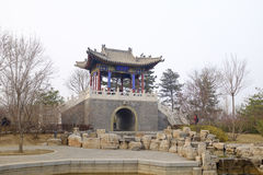 Beijing Expo Park. Is also known as Beijing Garden Expo Park or Yingshan Forest Park. It is located in the southwestern suburb of Beijing, near the Yongding Royalty Free Stock Images