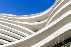 Beijing famous Modern architecture Galaxy SOHO,in China stock photography