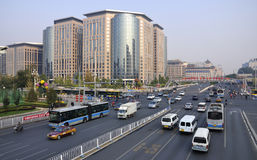 Beijing Finance Street, Skyline Royalty Free Stock Images