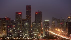 Beijing Financial skyline