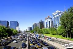 Beijing financial street Royalty Free Stock Photo