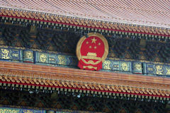 Beijing Fobidden City Royalty Free Stock Photography