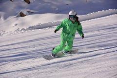 Beijing folk skiing Royalty Free Stock Photo