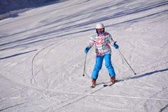 Beijing folk skiing Stock Image