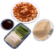 Beijing food. Chinese beijing food - Roast duck Royalty Free Stock Photos