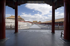 Beijing Forbidden City Stock Images