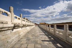 Beijing Forbidden City Stock Photo