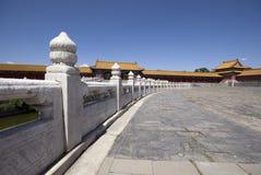 Beijing Forbidden City. Inside the National Palace Museum Stock Photos