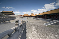 Beijing Forbidden City. Inside the National Palace Museum Royalty Free Stock Photography
