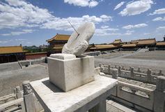Beijing Forbidden City. Inside the National Palace Museum Royalty Free Stock Image