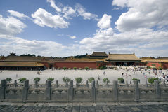 Beijing Forbidden City. Inside the National Palace Museum Stock Image