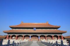 Beijing Forbidden City. Inner court palace, unesco world heritage in China stock image
