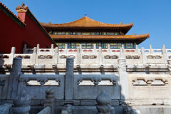 Beijing Forbidden City Stock Photography