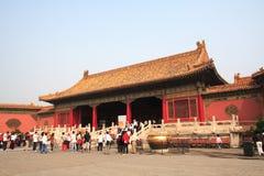 Beijing Forbidden City. Building in beijing Forbidden City Royalty Free Stock Photography