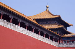 Beijing.Forbidden city Royalty Free Stock Photography