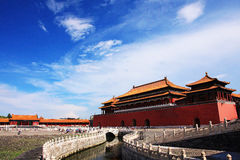 Beijing Forbidden City ancient architecture stock photography