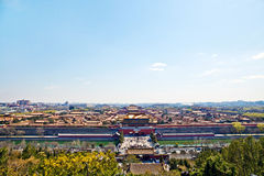 Beijing Forbidden City ancient architecture Royalty Free Stock Image