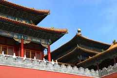 Beijing Forbidden City Architecture Stock Photography