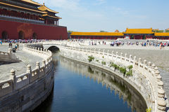 Beijing, Forbidden City Stock Photo