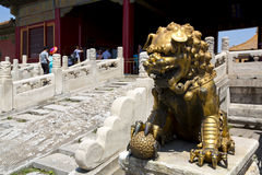 Beijing, Forbidden City Stock Images