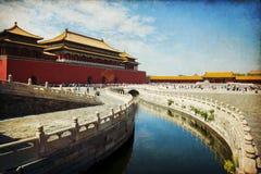 Beijing, Forbidden City Stock Photography