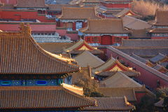 Beijing Forbidden City,China Royalty Free Stock Photography