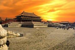 BeiJing Forbidden City. China BeiJing Forbidden City Photographed in May 2016 stock photos