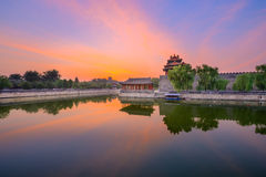 Beijing Forbidden City. Beijing, China forbidden city outer moat royalty free stock photography