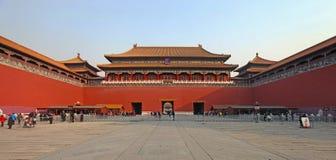 Beijing, the Forbidden City Stock Image
