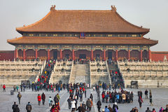 Beijing, the Forbidden City Royalty Free Stock Image