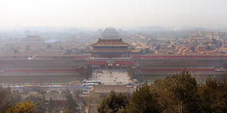 Beijing, the Forbidden City Royalty Free Stock Photography